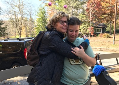 Camp 2017 Laura with Heather