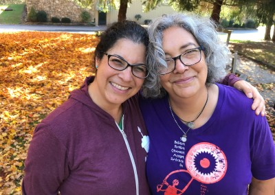 Camp 2017 Marta with Alison